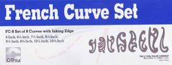 FRENCH CURVE SET