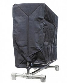 GARMENT RACK COVER WITH DELUXE ZIPPER