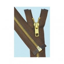 #5 BRASS SEPARATING JACKET ZIPPER