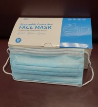 3 LAYER DISPOSABLE FACE MASKS