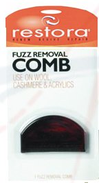 FUZZ REMOVAL COMB - Click Image to Close