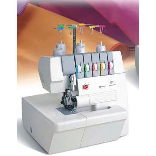 sewing machine with serger function