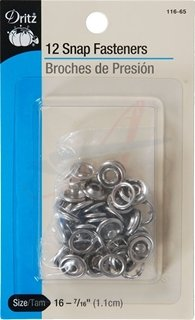 NO-SEW SNAP FASTENERS [S-11665] - $3 59 : American Sewing Supply